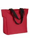 Polyester Zip Tote: (BE080)