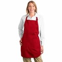 Port Authority Apron: 100% Cotton Twill Full-Length Pocketed (A500)