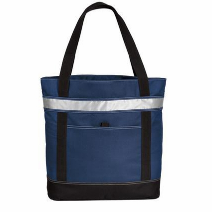 Port Authority Tote Bag: Zippered Cooler with Front Pocket (BG118)