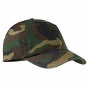 Port Authority Cap: 100% Cotton Camouflage (C851)