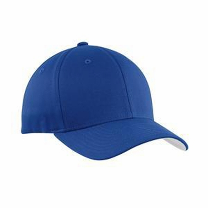 Port Authority Cap: Cotton Twill Flexfit Silver Underbill (C813)