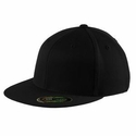 Port Authority Cap: Flexfit Flat Bill Solid (C808)