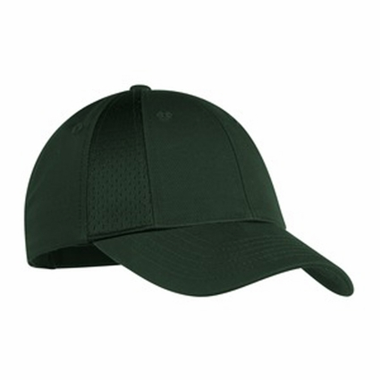 Port Authority Cap: 100% Cotton Poly Mesh Insets 8-Panel (C866)