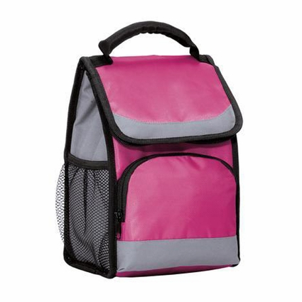 Port Authority Cooler Bag: Flap Lunch Poly with Padded Handle (BG116)