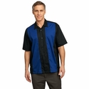 Port Authority Men's Camp Shirt: Retro Soft Peached Twill (S300)