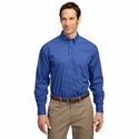 Port Authority Men's Dress Shirt: Long Sleeve Easy Care Soil Resistant (S607)