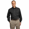 Port Authority Men's Dress Shirt: Tonal Pattern Easy Care Pocketed (S613)
