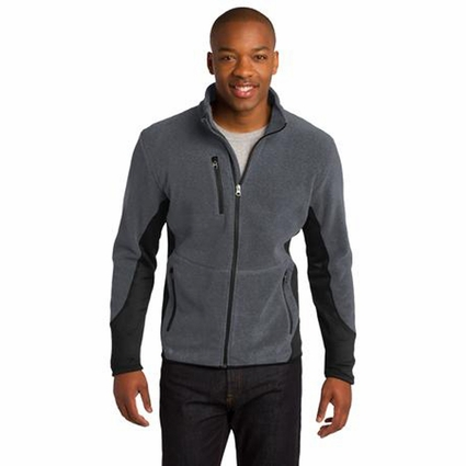 Port Authority Men's Fleece Jacket: Pro Color Block Full-Zip (F227)