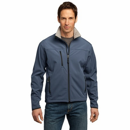 Port Authority Men's Jacket: Glacier Soft Shell Waterproof (J790)