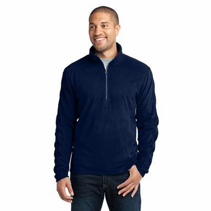 Port Authority Men's Jacket: Microfleece 1/2-Zip Pullover (F224)
