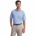 Port Authority Men's Polo Shirt: 100% Polyester Dry Zone Ottoman (K525)