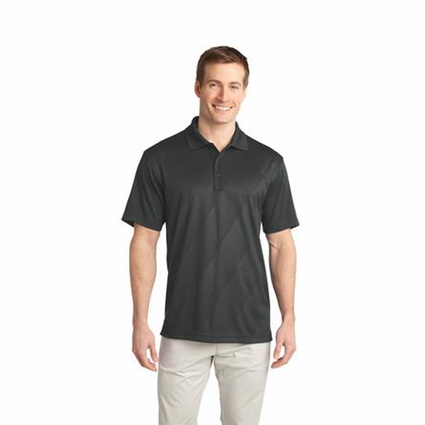 Port Authority Men's Polo Shirt: Tech Embossed
