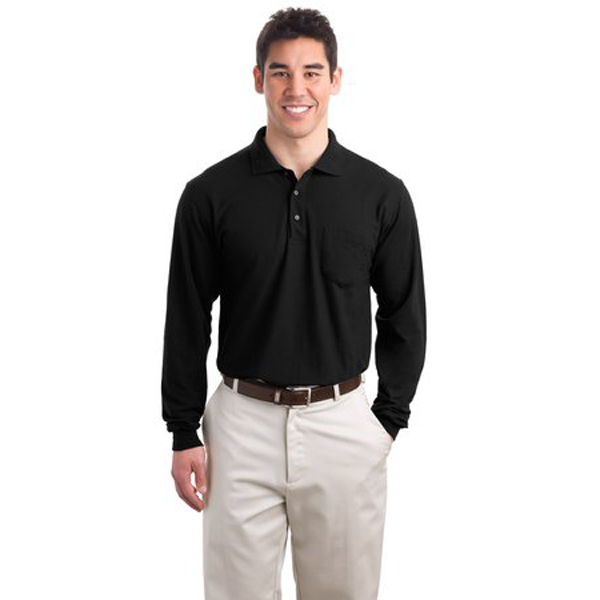 9066fda2 Port Authority Polo Shirt for Men Style# K500LSP Screen Print available