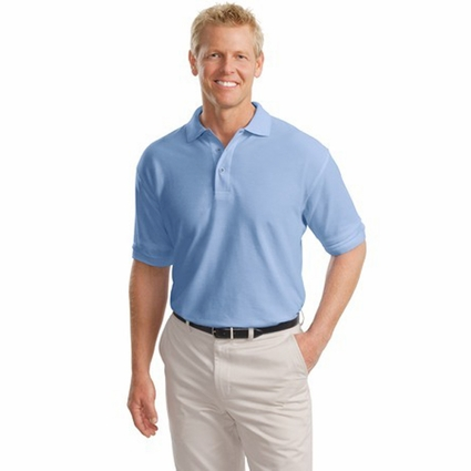 Port Authority Men's Polo Shirt: Tall Silk Touch (TLK500)