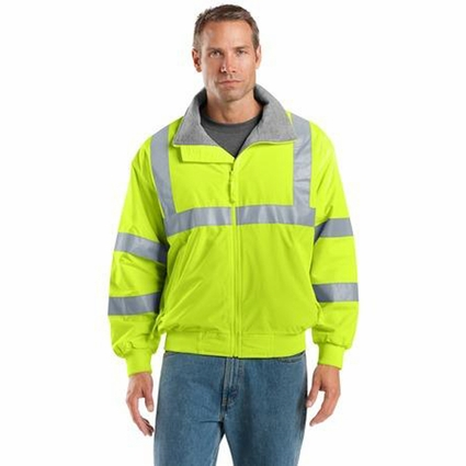 Port Authority Men's Safety Jacket: Challenger Non-ANSI Reflective (SRJ754)