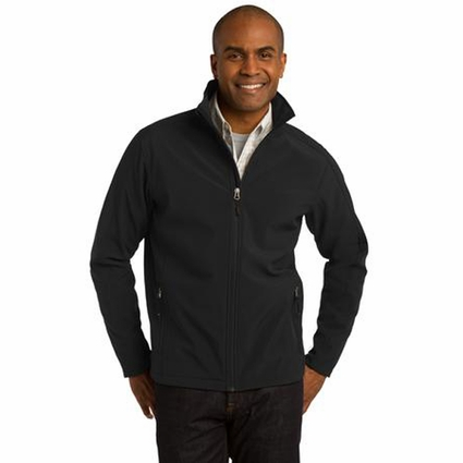 Port Authority Men's Soft Shell Jacket: Waterproof Core Full-Zip (J317)