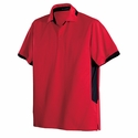 Port Authority Men's Tall Polo Shirt: 100% Polyester Dry Zone Ottoman (TLK524)