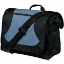 Port Authority Messenger Bag: Midcity with Two Water Bottle Pockets (BG78)