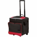 Port Authority Rolling Cooler: 48-Can Capacity with Front Pocket (BG119)