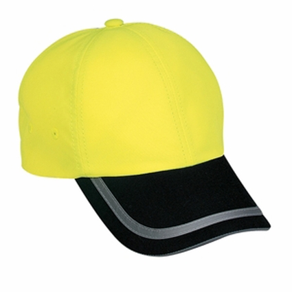Port Authority Safety Cap: Reflective Two Tone Non-ANSI Certified (C836)