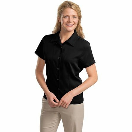Port Authority Women's Camp Shirt: Easy Care (L535)