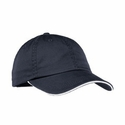 Port Authority Women's Cap: 100% Cotton Enzyme-Washed Striped (LC830)