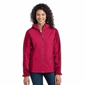 Port Authority Women's Jacket: Gradient Hooded Soft Shell (L312)