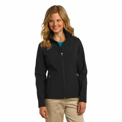 Port Authority Women's Soft Shell Jacket: Waterproof Core Full-Zip (L317)