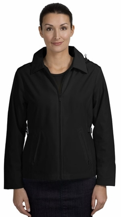 Port Authority Women's Jacket: Legacy Pocketed with Detachable Hood (L764)