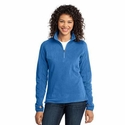 Port Authority Women's Jacket: Microfleece 1/2-Zip Pullover (L224)