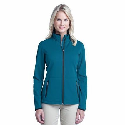 Port Authority Women's Jacket: Pique Fleece Pocketed (L222)
