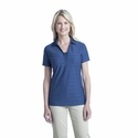 Port Authority Women's Polo Shirt: Horizontal Texture with Moisture Wicking (L514)