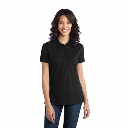 Port Authority Women's Polo Shirt: Stretch Pique