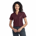 Port Authority Women's Polo Shirt: Performance Vertical Textured Pique (L512)