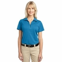Port Authority Women's Polo Shirt: Tech Performance Moisture Wicking Pique (L527)