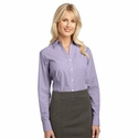Port Authority Women's Woven Shirt: Plaid Pattern Easy Care Button Down (L639)