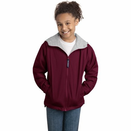 Port Authority Youth Jacket: Team Pocketed Full-Zip (YJP56)