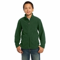 Port Authority Youth Jacket: Value Fleece Pocketed (Y217)