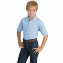Port Authority Youth Polo Shirt: 100% Cotton Pique Knit (Y420)