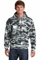Port & Co Classic Camo Pullover Hooded Sweatshirt
