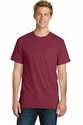 Port & Co Essential Pigment-Dyed Pocket Tee