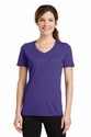 Port & Co Ladies Essential Blended Performance V-Neck Tee