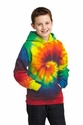 Port & Co Youth Essential Tie-Dye Pullover Hooded Sweatshirt