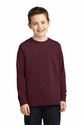 Port & Co Youth Long Sleeve 5.4-oz 100% Cotton T-Shirt