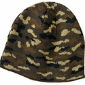 Port & Company Beanie: Camouflage Knit Cap (CP91C)