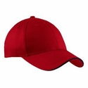 Port & Company Cap: 100% Cotton Sandwich Bill (CP85)