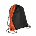 Port & Company Cinch Sack: Colorblock Backpack (BG80)