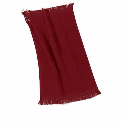 Port & Company Fingertip Towel: 100% Cotton Grommeted (PT40)