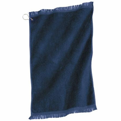 Port & Company Hand Towel: 100% Cotton Grommeted (PT41)