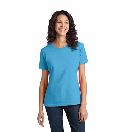 Port & Company Ladies T-Shirt: Essential Ring Spun Cotton (LPC150)